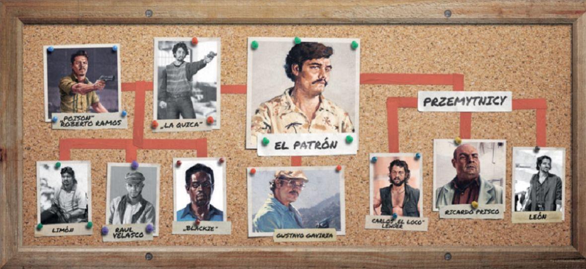 """Jeśli tęsknisz za Escobarem, to możesz go schwytać i już nie wypuścić. Sprawdź grę planszową """"Narcos"""""""