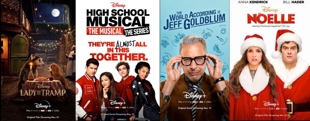 Disney+ - filmy i seriale na start