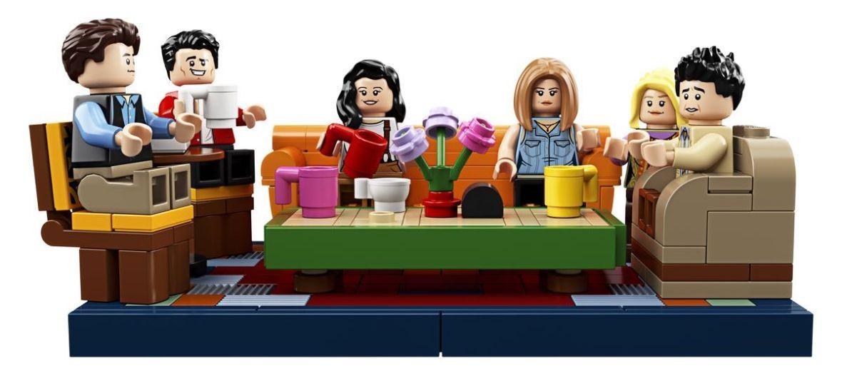 """Idealny prezent dla fanów """"Przyjaciół"""" już niedługo w sklepach. Lego pokazało nowe zdjęcia zestawu dedykowanego serialowi"""