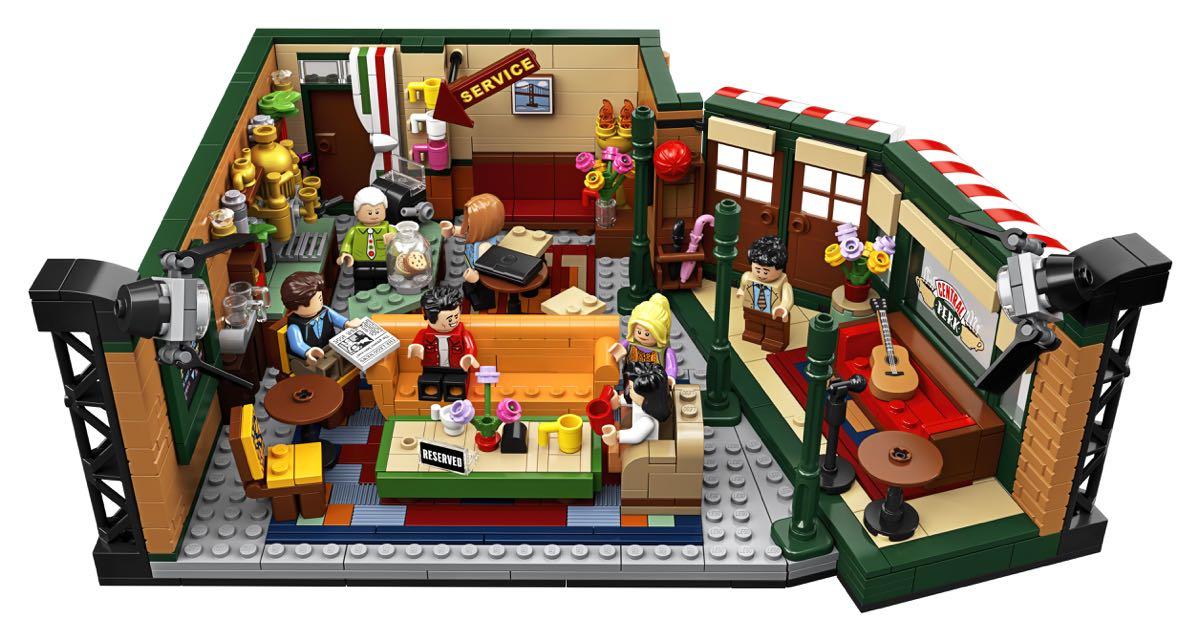 Lego Przyjaciele - zestaw nawiazujący do słynnego sitcomu