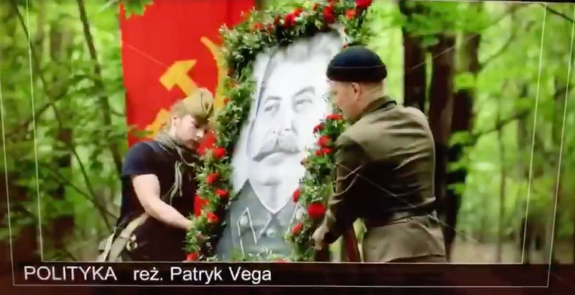 """""""Polityka"""", a LGBT. Patryk Vega pokazuje nowy fragment filmu i sugeruje, że ten wyprzedził rzeczywistość"""