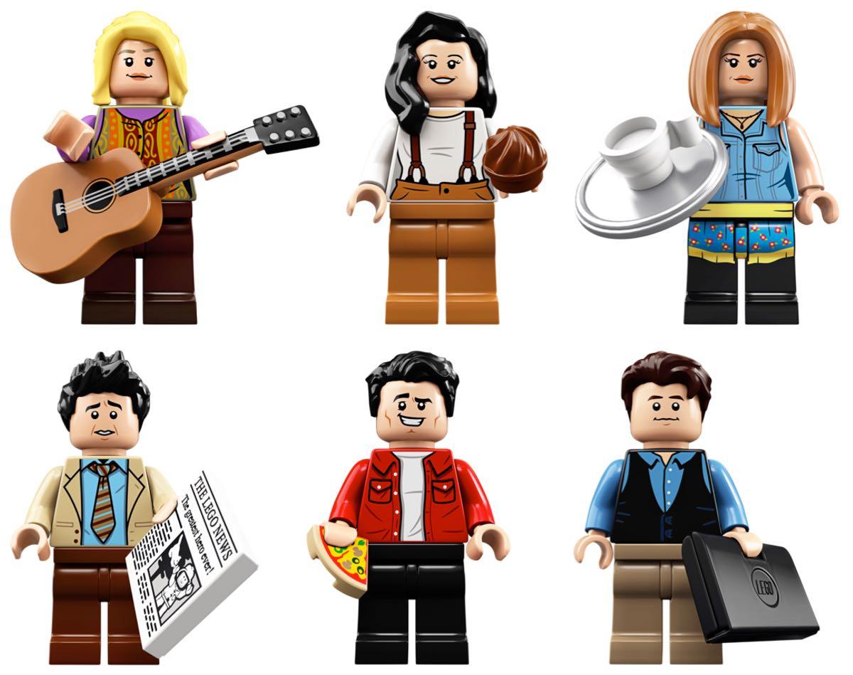 Przyjaciele w wersji Lego