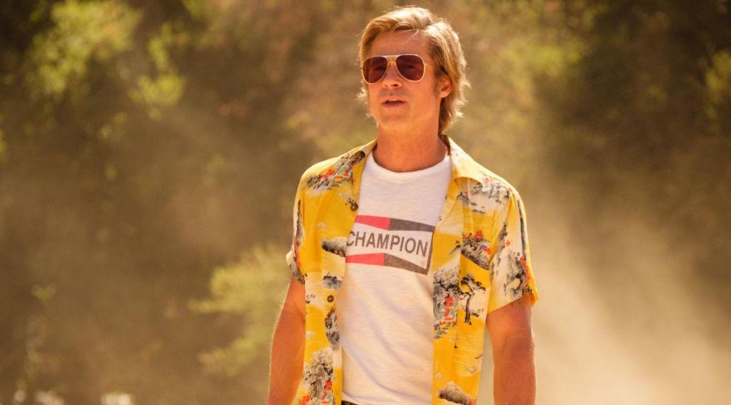 Brad Pitt w filmie Pewnego razu... w Hollywood