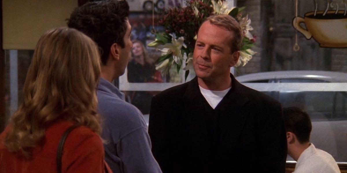 Przyjaciele - najlepsze występy gościnne - Bruce Willis