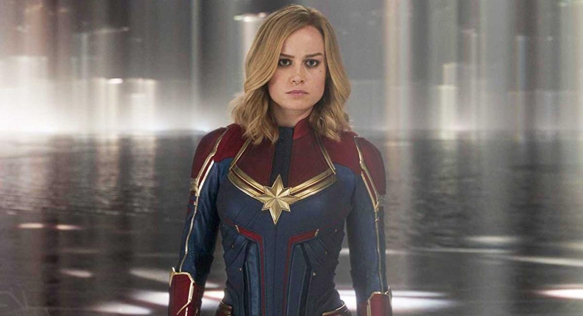 Kapitan Marvel - kadr z filmu