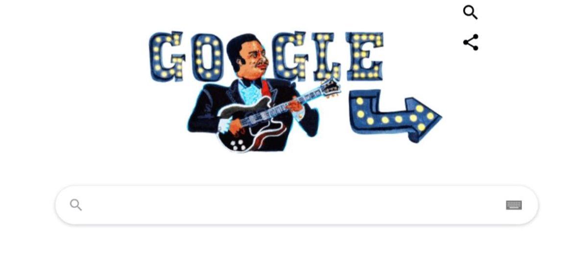 Kim jest B.B King, artysta uhonorowany dzisiejszym Google Doodle?