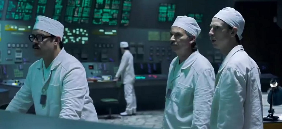 Czarnobyl - kadr z serialu