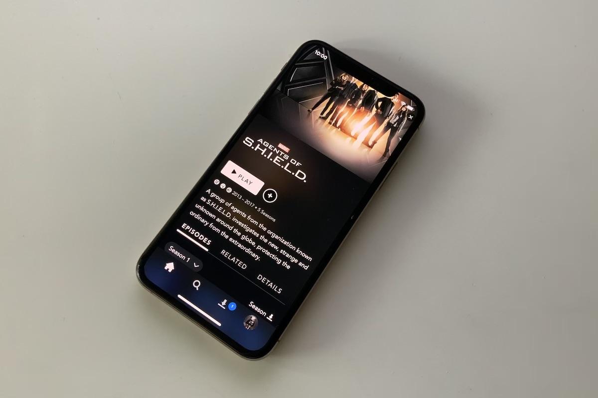 disney plus aplikacja iphone
