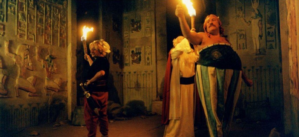 """Powstaje aktorski film w świecie """"Asteriksa"""". Gerard Depardieu nie będzie już Obeliksem"""