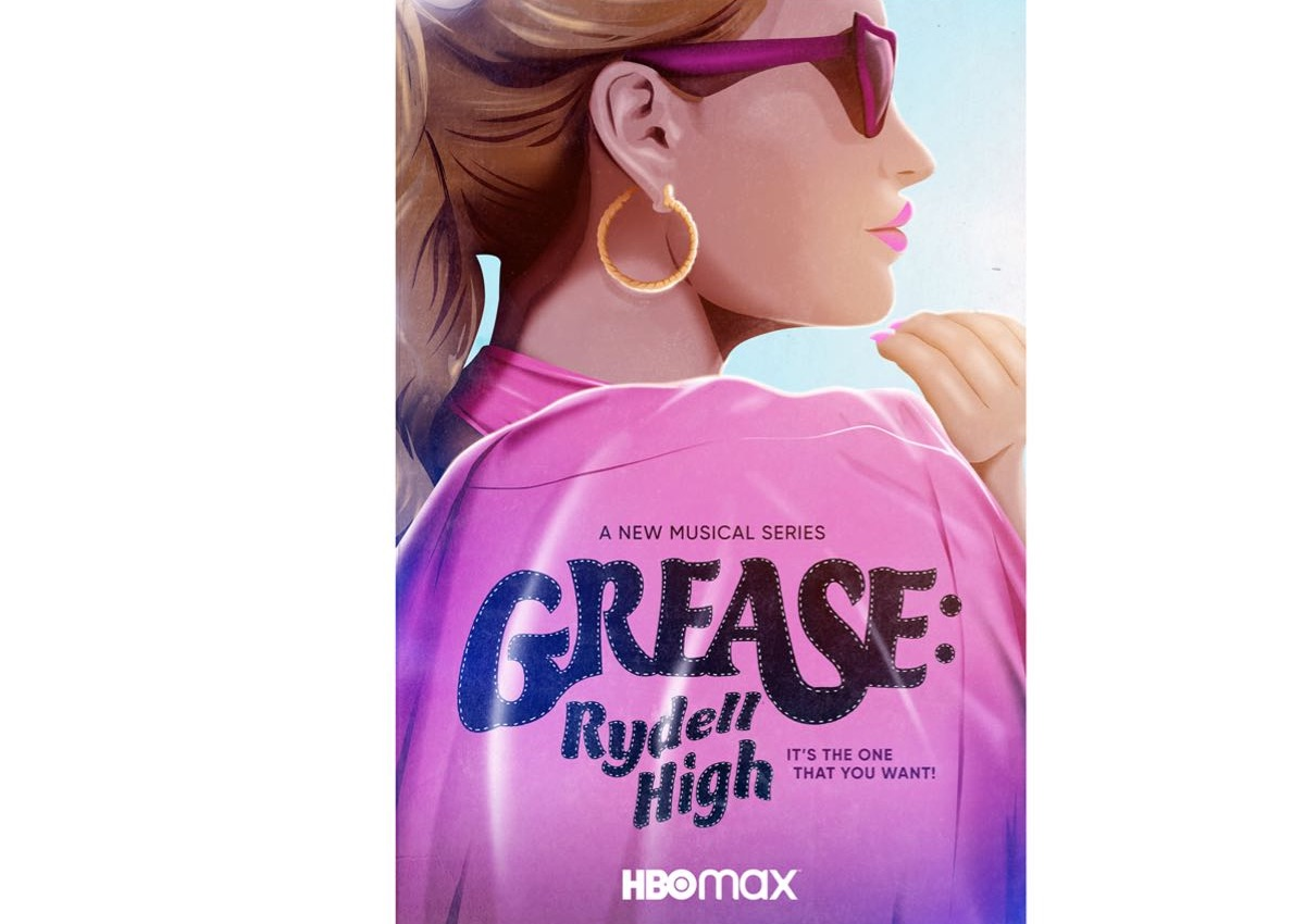 Grease Rydell High - plakat serialu HBO Max