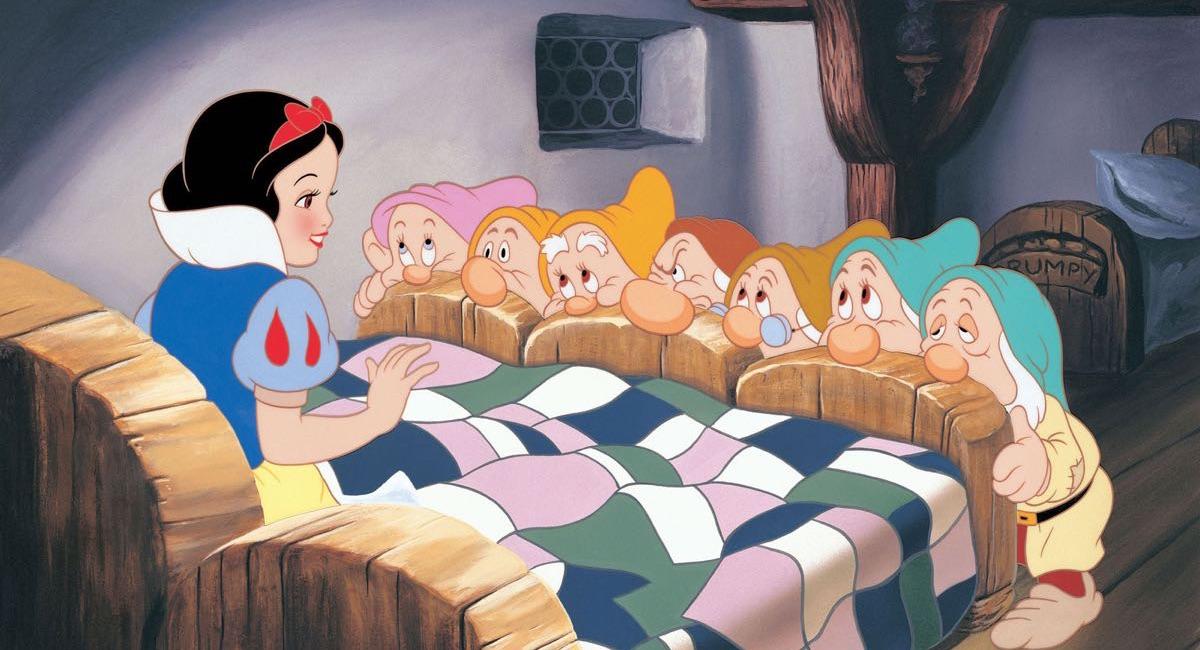 Królewna Śnieżka i siedmiu krasnoludków - kadr z filmu