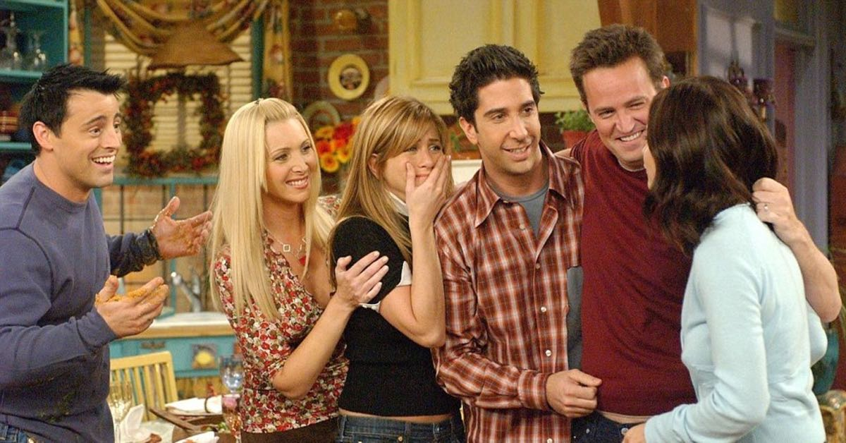 Przyjaciele - kadr z ostatniego odcinka