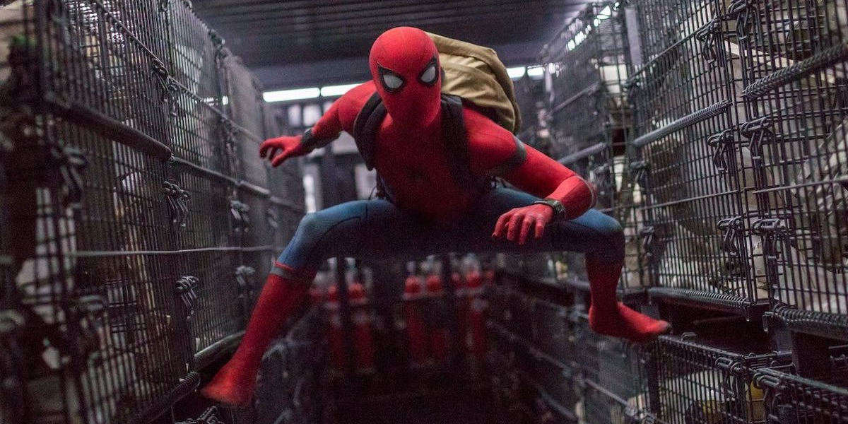 Spider-Man: Homecoming - kadr z filmu