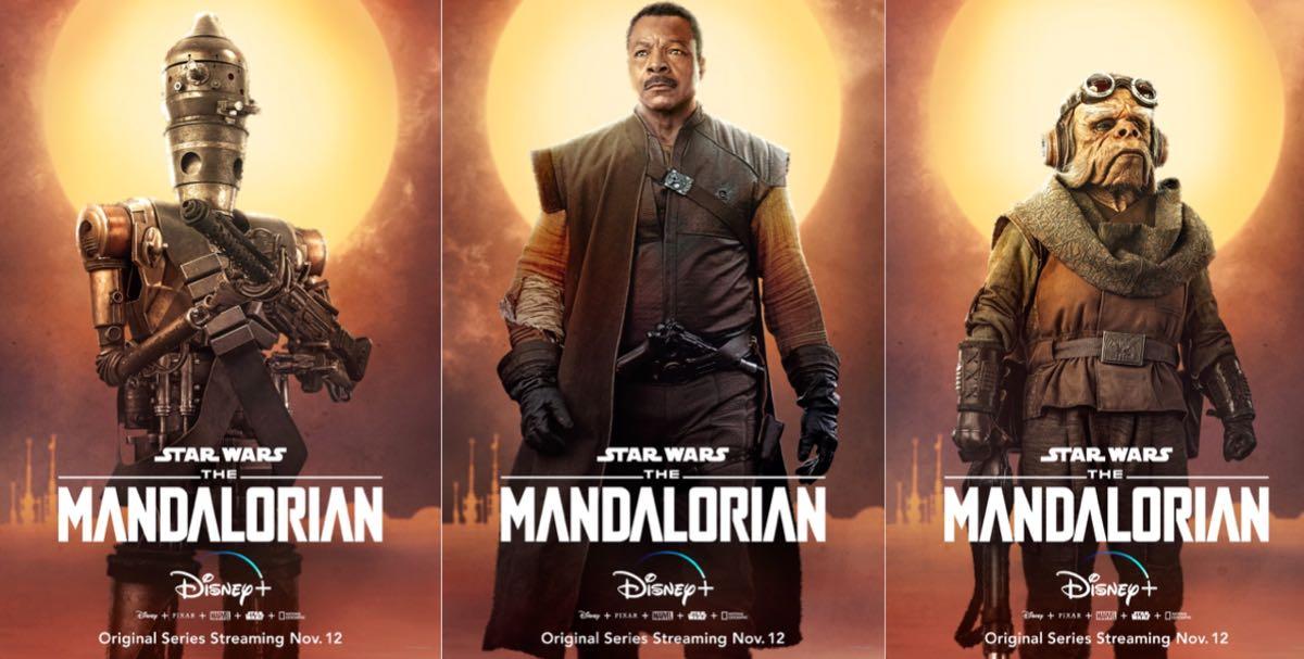The Mandalorian - plakaty serialu Disney+