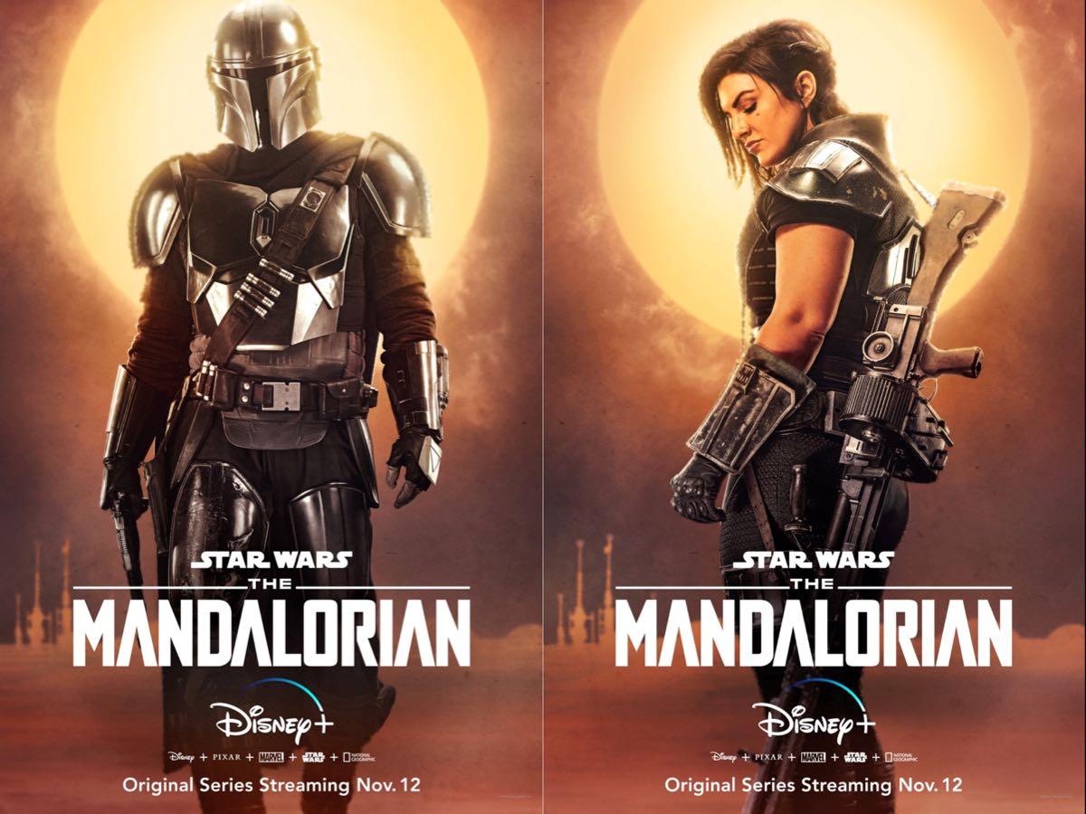 The Mandalorian - nowe plakaty promocyjne