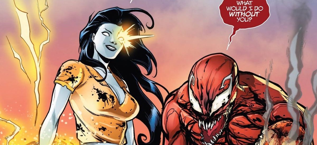 Venom - kadr z komiksu