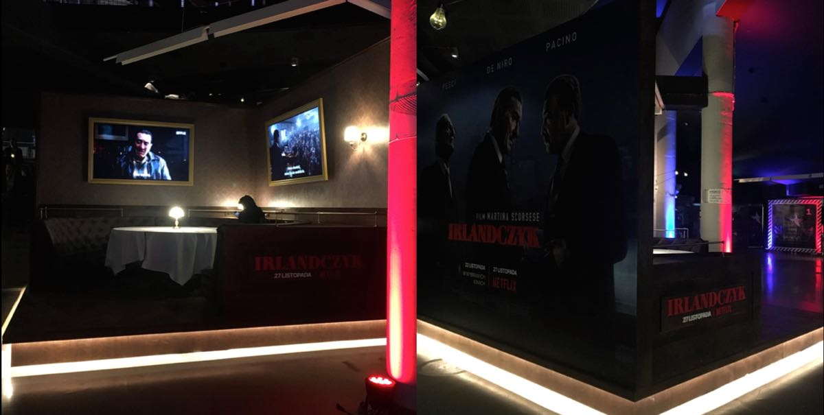 Irlandczyk - stand na American Film Festival