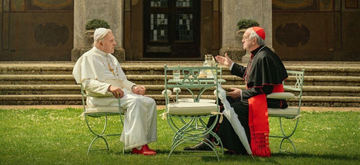 """""""Dwóch papieży"""" – lekka produkcja o trudnym problemie. Oceniamy nowy film Netfliksa"""