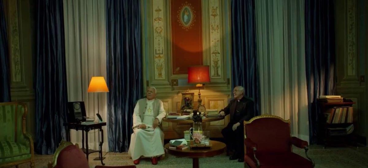 Dwóch papieży - kadr z filmu