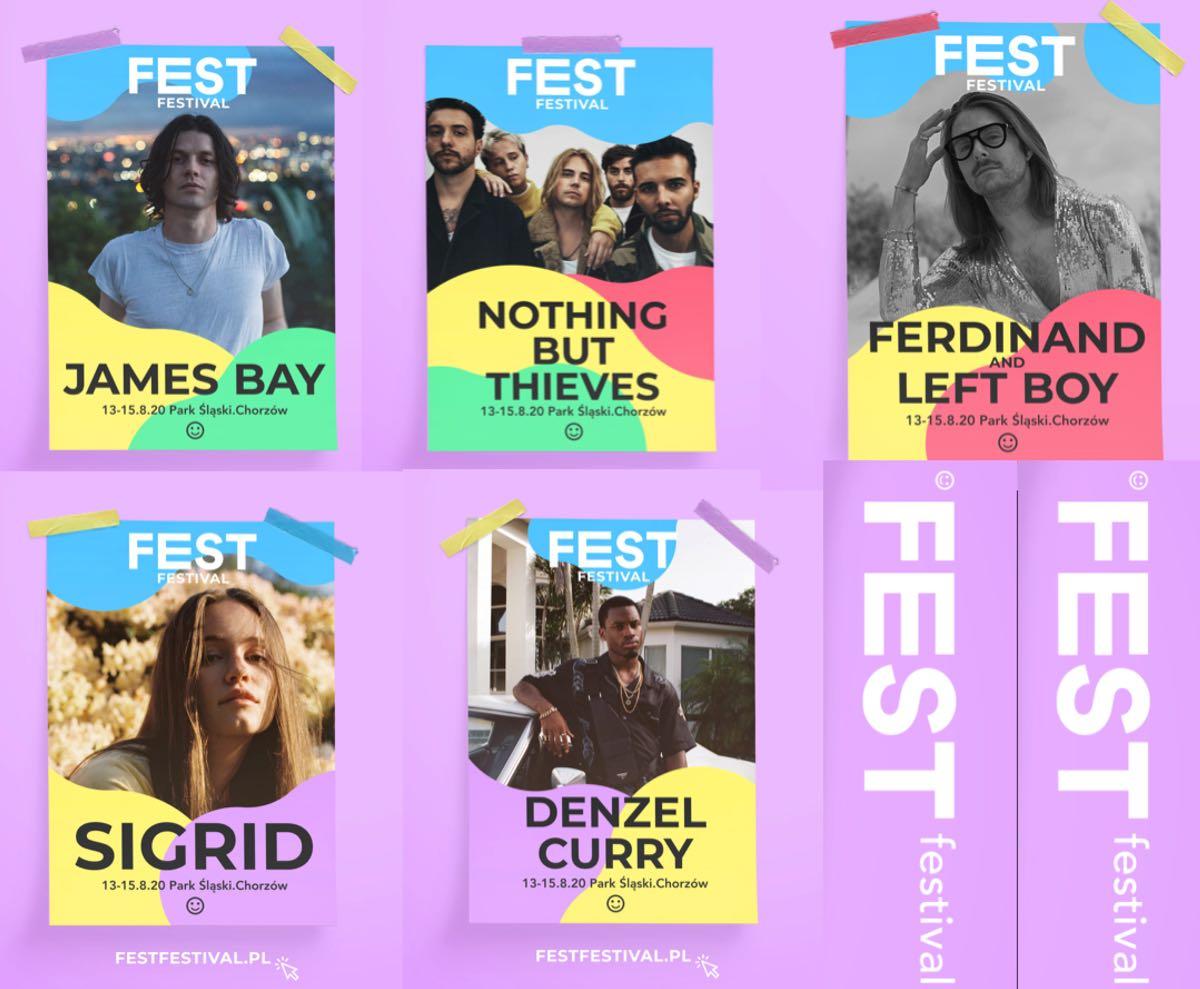 Fest Festival 2020 - artyści