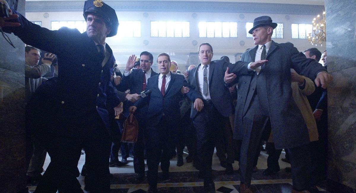 Irlandczyk - kadr z filmu