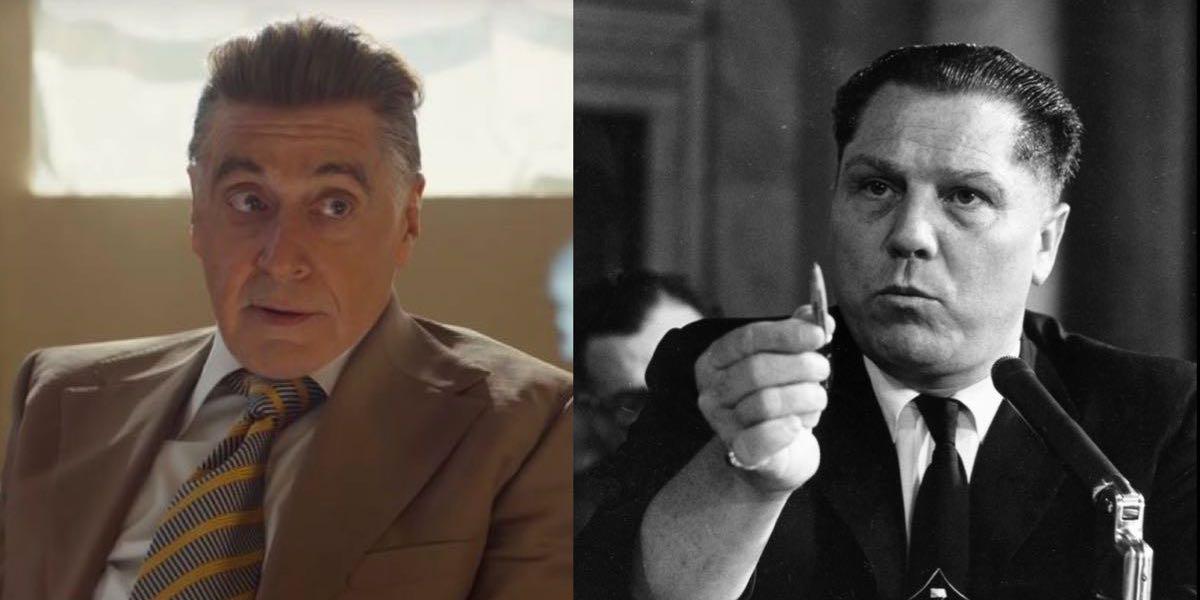 Al Pacino a Jimmy Hoffa - Irlandczyk a historia