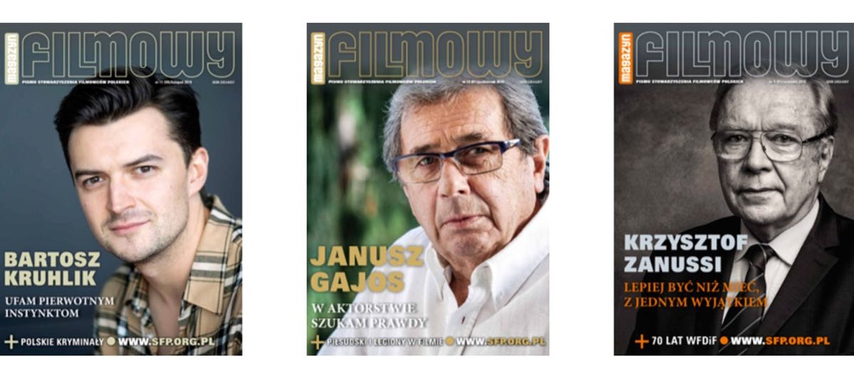 Magazyn Filmowy - okładki czasopisma