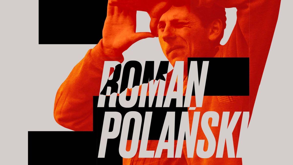 Roman Polański - Łódzka Filmówka - plakat z okazji wizyty