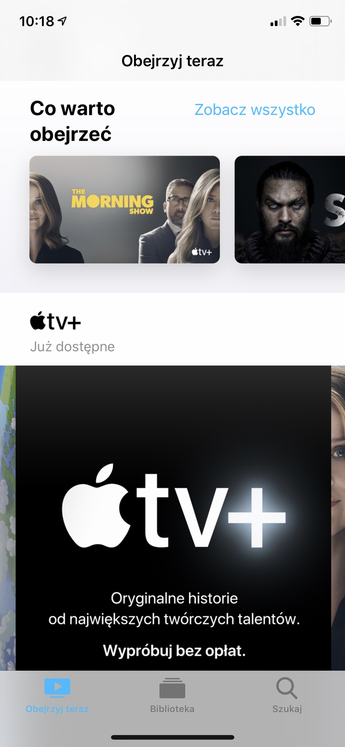 apple tv plus iphone