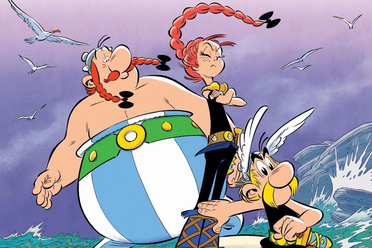 asteriks komiksy