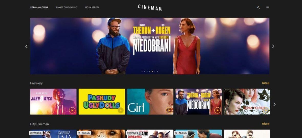 Nowy Cineman.pl jest już dostępny! Ile kosztuje i jak działa serwis, w którym obejrzysz setki filmów w abonamencie?