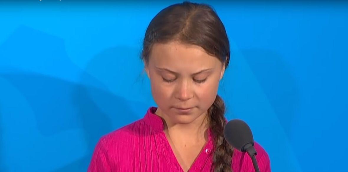 Greta Thunberg tuż obok Hitlera. W TVP Info przeszli samych siebie