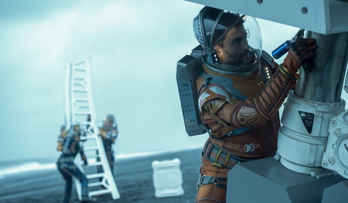 Zagubieni w kosmosie - kadr z serialu
