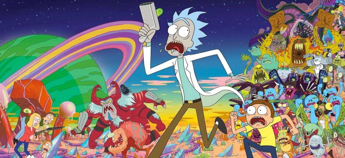 """Album """"Rick i Morty. Porąbana sztuka"""" to olbrzymi zbiór rysunków. Dowiecie się z niego, jak powstał """"Rick i Morty"""""""