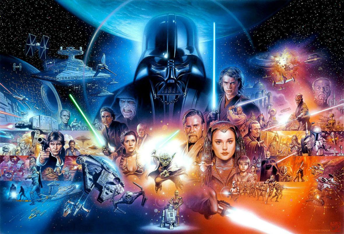 """Nie zdążysz obejrzeć poprzednich filmów """"Star Wars"""" przed premierą """"Skywalker. Odrodzenie""""? Nie szkodzi, streściliśmy je wszystkie"""