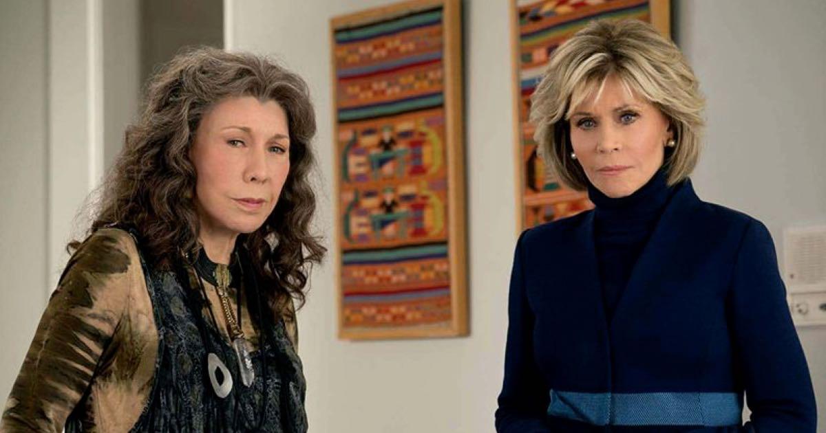 Grace i Frankie - kadr z serialu