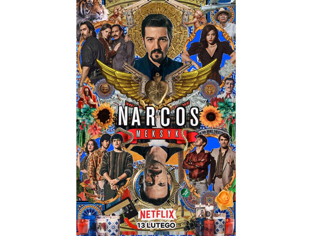 Narcos: Meksyk - plakat promocyjny 2. sezonu