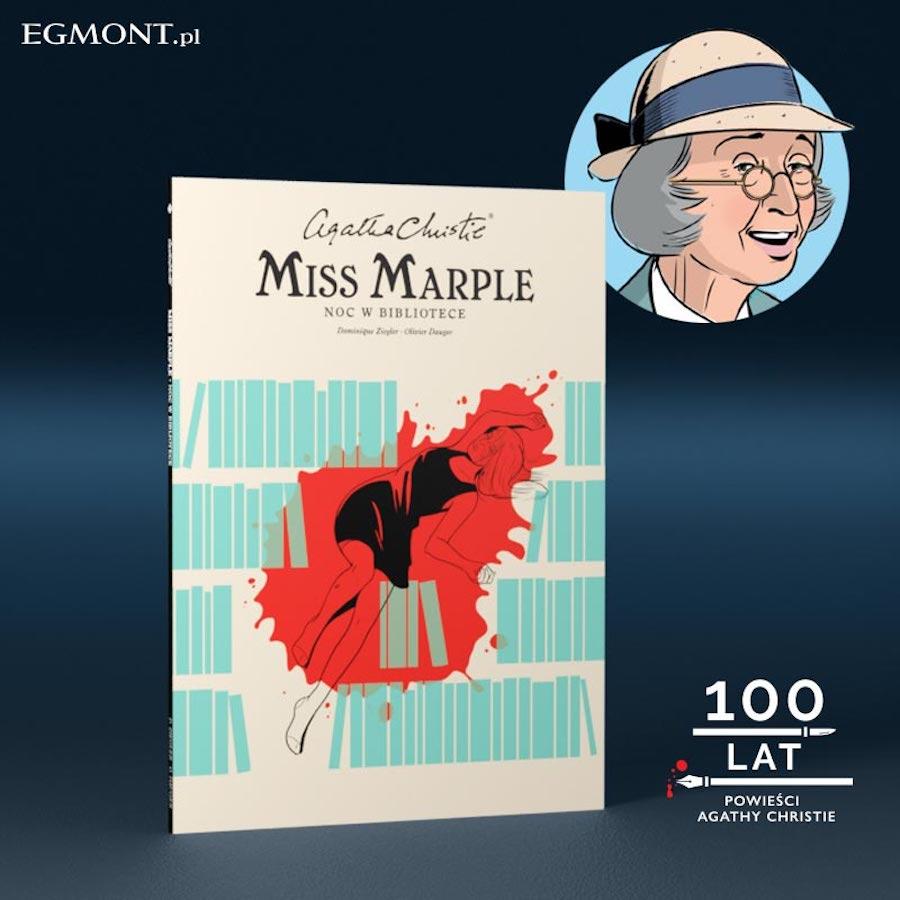 miss Marple komiks Egmont