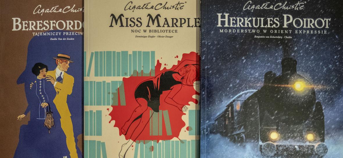 Jeśli kochacie Agathę Christie, to Egmont ma dla was niespodziankę na 100-lecie powieści królowej kryminału – 3 komiksy na podstawie jej książek