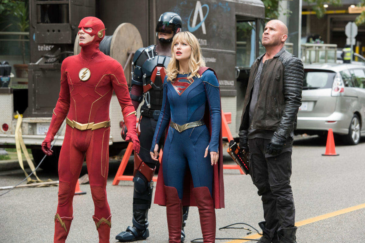crisis on infinite earths arrowverse cw dc comics seriale arrow dcs legends of tomorrow earth-prime crossover