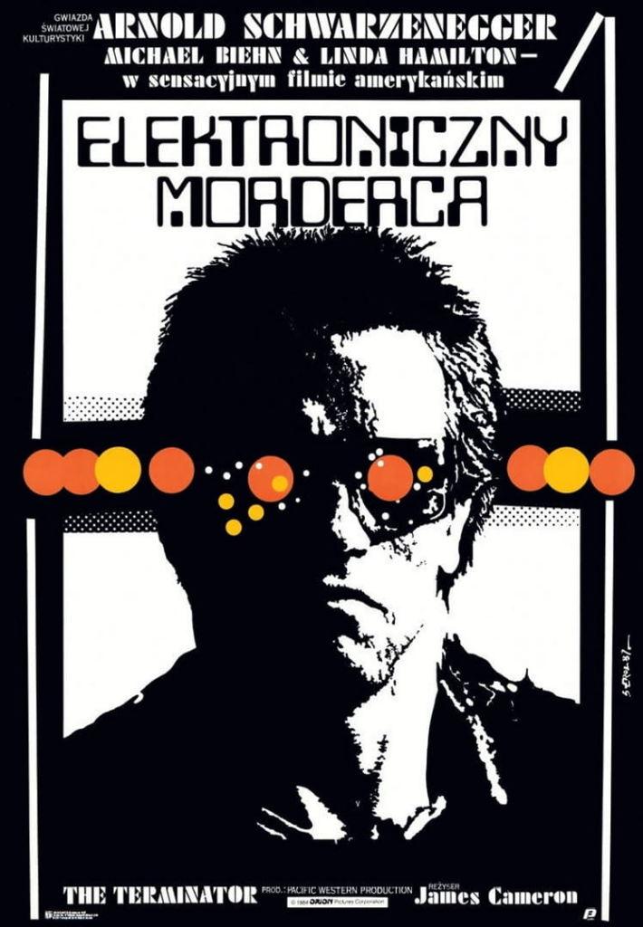 elektroniczny morderca plakat