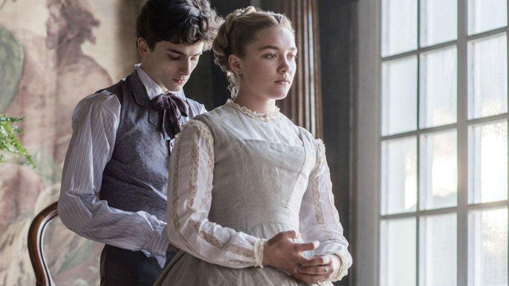 Florence Pugh w filmie Małe kobietki