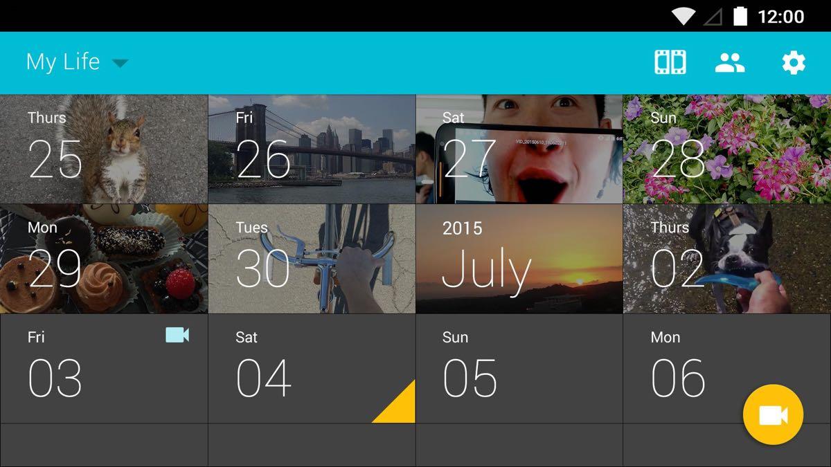1 Second Everyday - aplikacja
