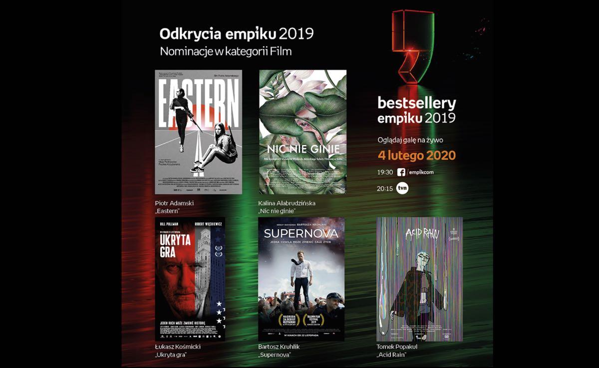Odkrycia Empiku - film - nominowani