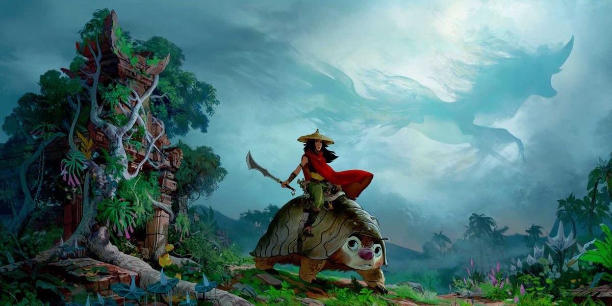 Raya and the Last Dragon – grafika koncepcyjna