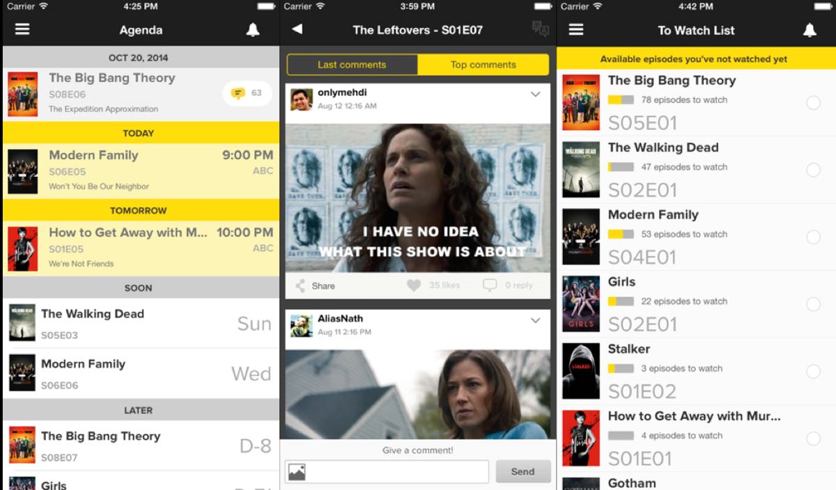 TV Show Time - aplikacja