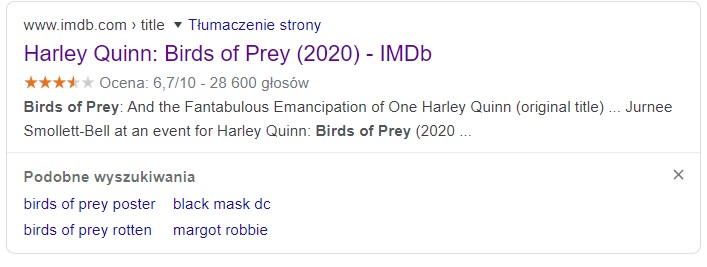 birds of prey nowy tytul