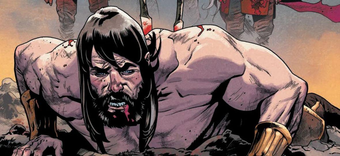 """""""Conan Barbarzyńca"""" wraca w krwawej glorii chwały. Nowy komiks Marvela to majstersztyk fantastyki"""