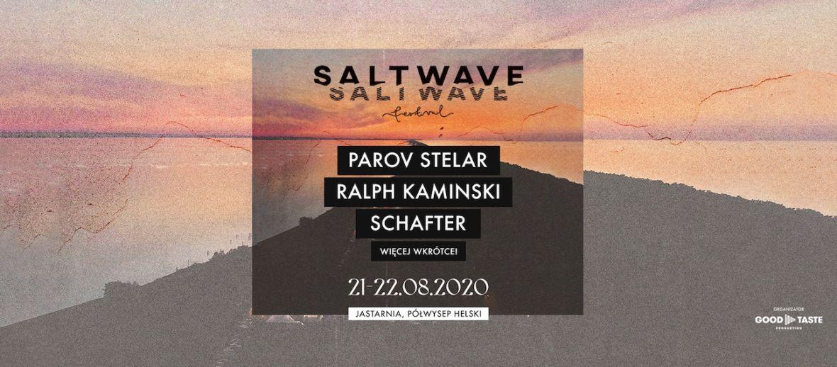 Ciepło, cieplej, Salt Wave Festival 2020. Już w te wakacje nad Bałtykiem zagrają Parov Stelar, schafter i Ralph Kaminski