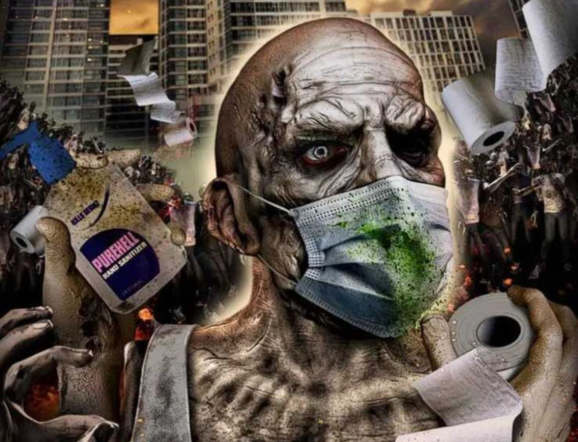 """Przygotujcie dużo papieru. Powstaje właśnie film """"Corona Zombies"""" – horror inspirowany epidemią koronawirusa"""